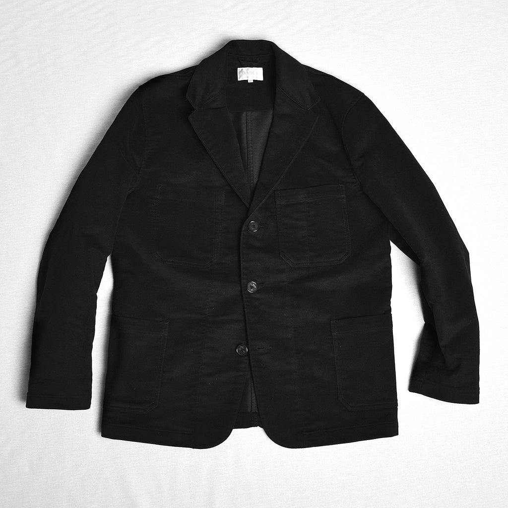Black Moleskin Jackets (JA700)