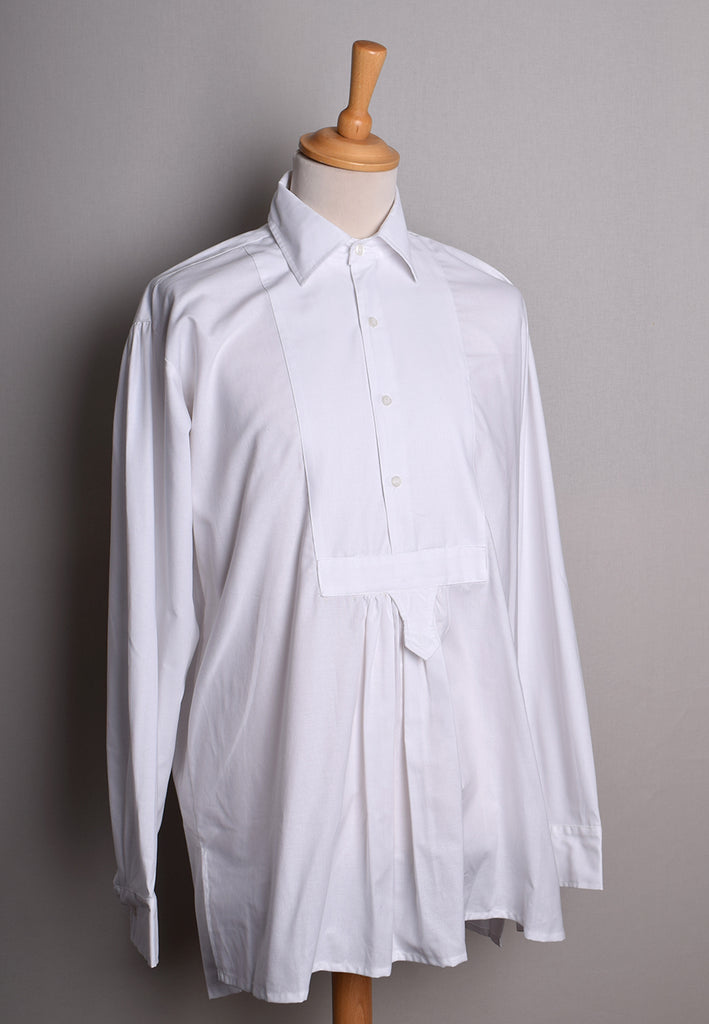 Plain Bib Front Cotton Jericho Shirt (SH163)