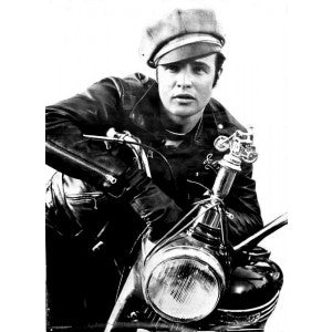 Marlon Brando in a very different cap