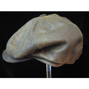 Eight Piece Leather Cap (HA140)