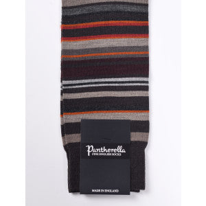 Dark Brown Multi Stripe