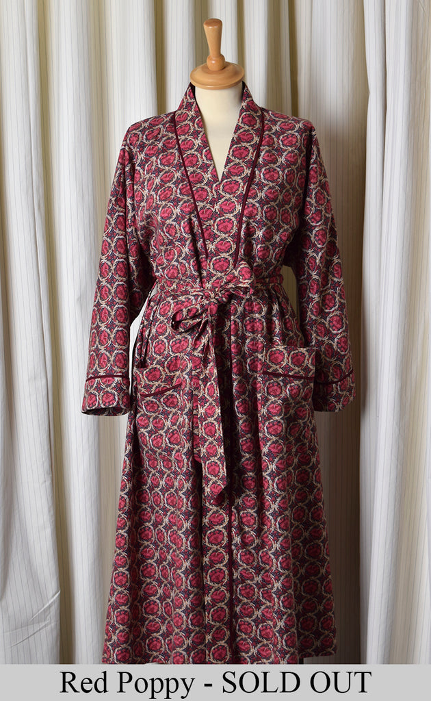 NW520 - Dressing Gowns - Red Poppy - Sold Out