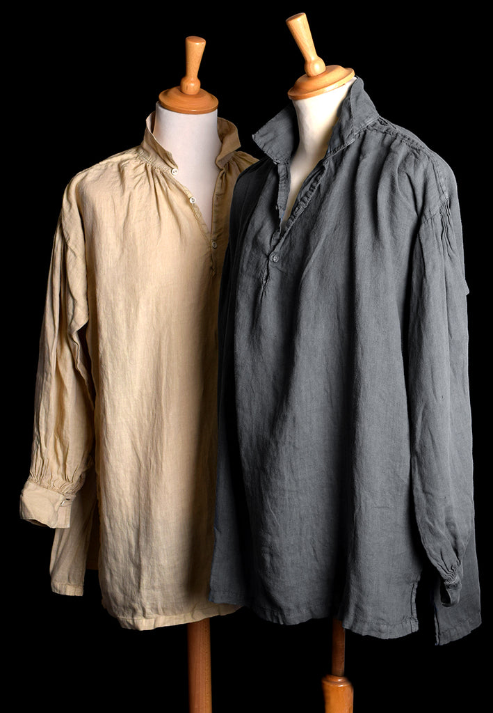 Broken Down C18th Linen Shirt (SH120B) | Darcy Clothing