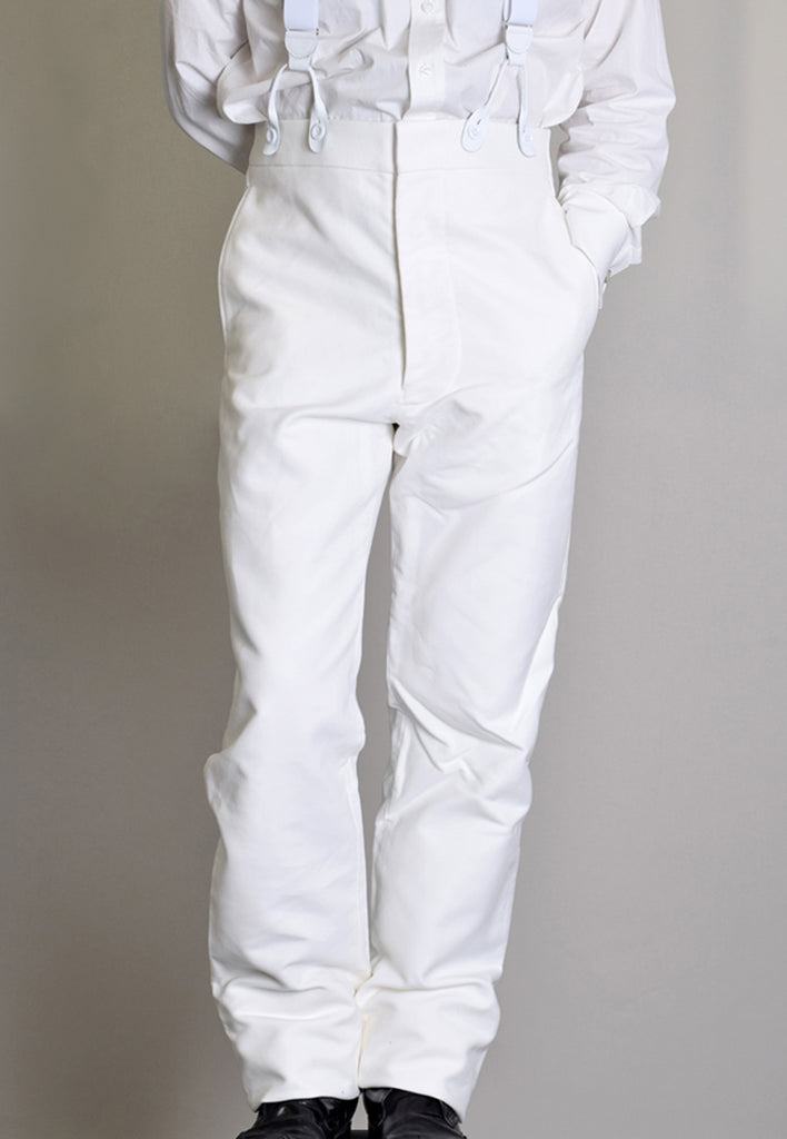 Lightweight Cotton Moleskin Cricket Trousers (TR205L)