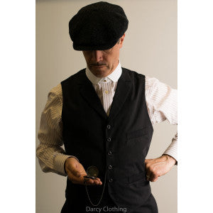 Limited Edition Single Breasted Rever Collar Waistcoat (WC200R)