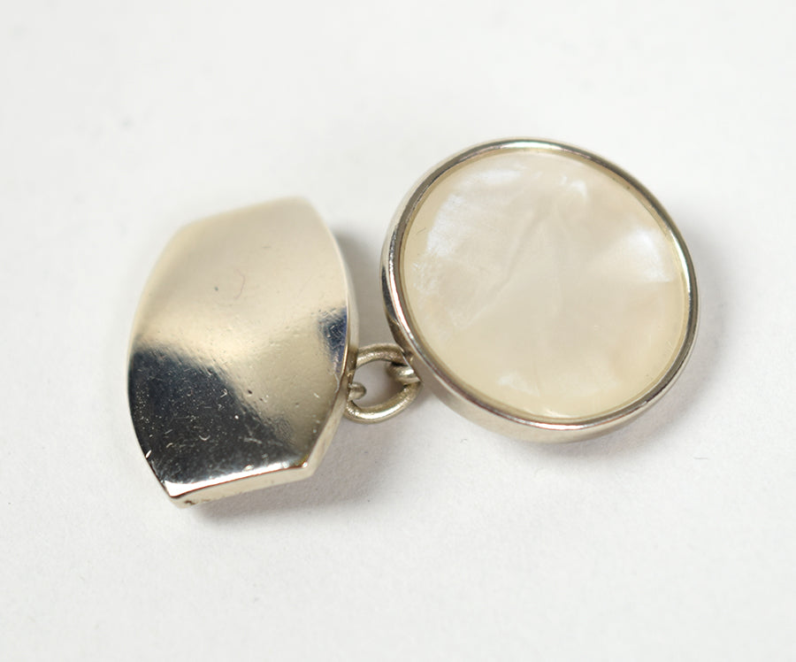 Barrel Mother of Pearl / Silver