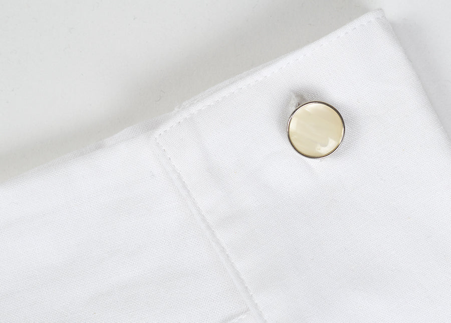 Double Sided Vintage Chain Cuff Links (ST920)