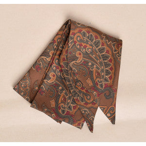 Large Brown Paisley