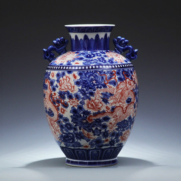 Hand-made Chinese Ceramic Vase