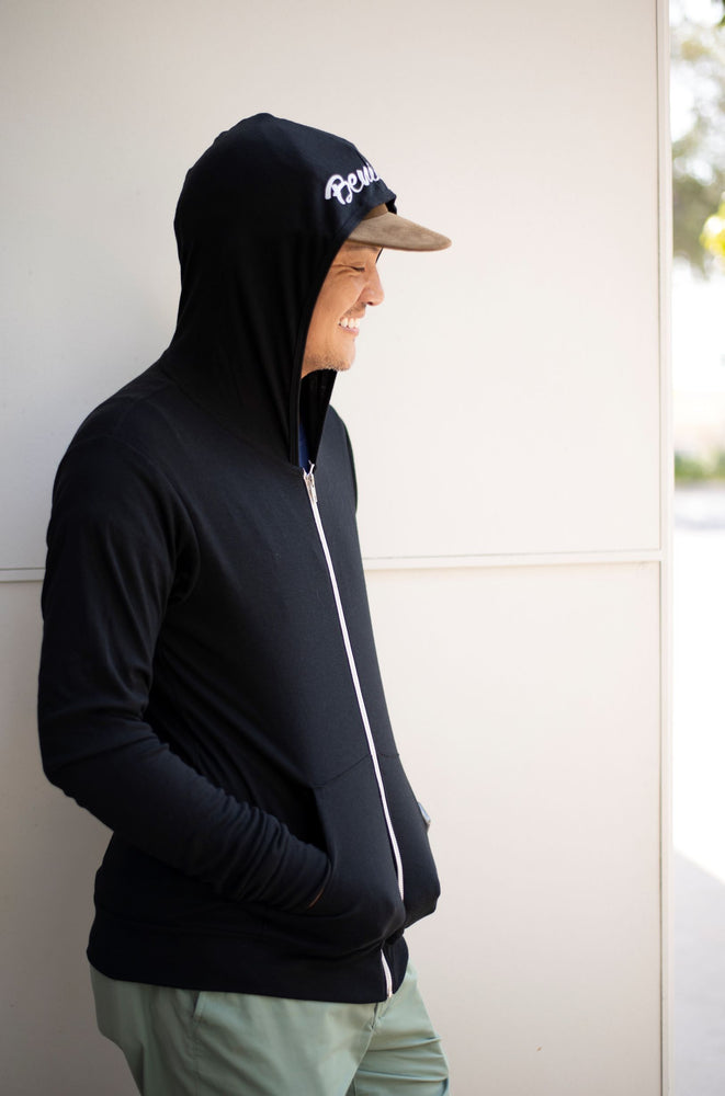 Load image into Gallery viewer, 'Benison' Full Zip Lightweight Hoodie
