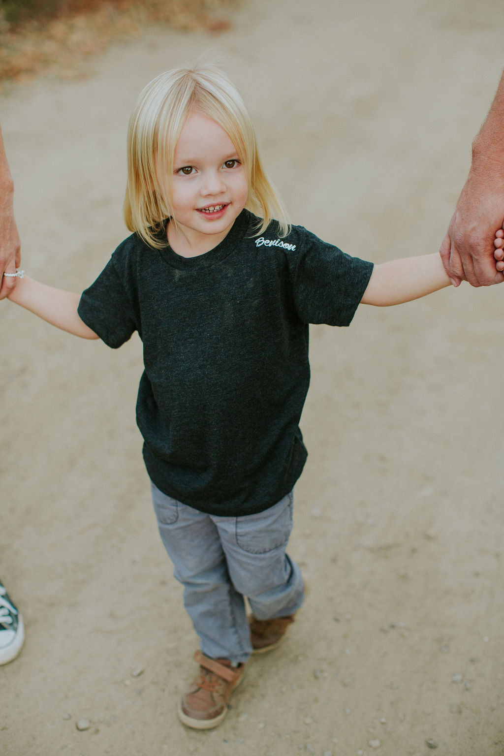 Toddler 'Benison' Triblend Short Sleeve Tee