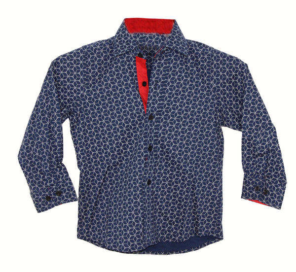 Camisa Formal Manga Larga