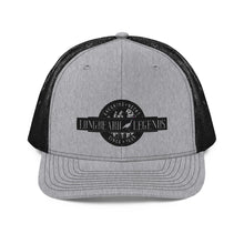 Load image into Gallery viewer, LBL Black Logo Trucker Cap