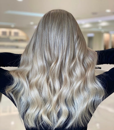 Caring for your blonde virgin hair extensions