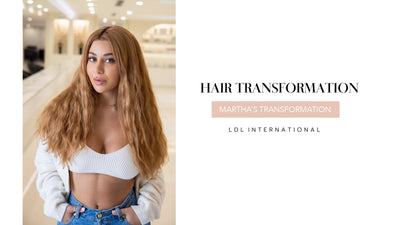 Martha from MAFS - her hair journey with LDL International - going from Short Blonde to Long Copper Chic.