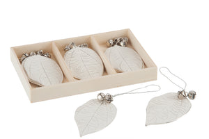 Box of 9 Hang Leaf Bel Met W/G