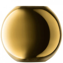 Load image into Gallery viewer, Polka Vase H11cm Gold