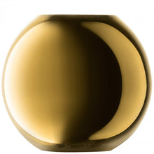 Load image into Gallery viewer, Polka Vase H16cm Gold