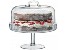 Load image into Gallery viewer, Serve Cakestand & Dome Ø26.5cm/Ø25cm