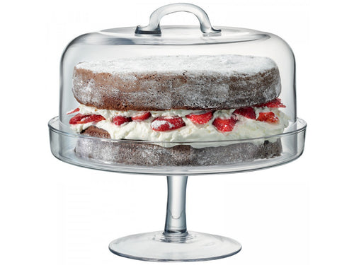 Serve Cakestand & Dome Ø26.5cm/Ø25cm