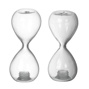 Hourglass Salt & Pepper Shakers S/2