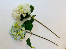 Load image into Gallery viewer, Hydrangea Flower with Long Stem