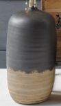 Vase Johnson Ceramics Large Black/Natural