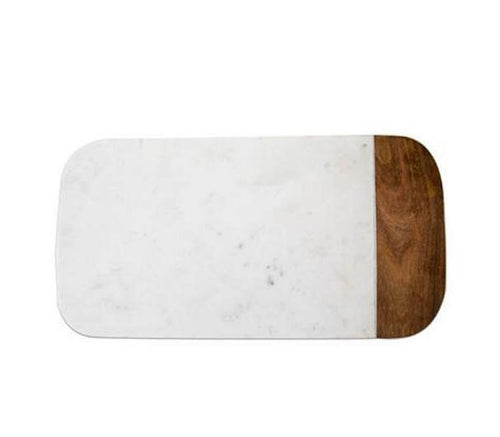 Marble/Sheesham Cheese Board