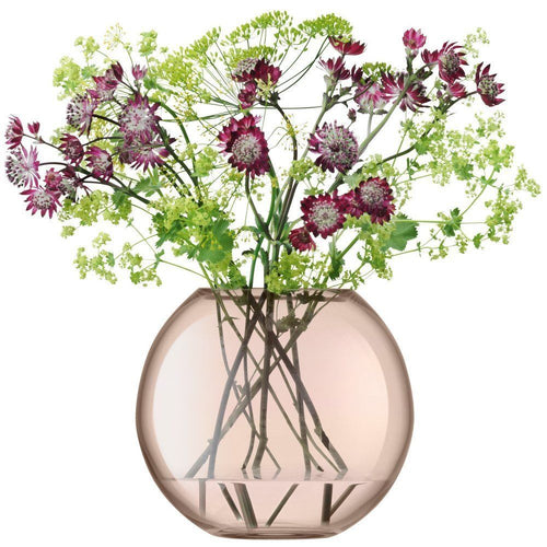 Polka Vase H16cm Sheer Copper