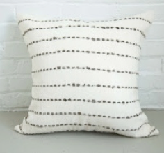 Rio Pillow Cover Grey