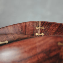 Load image into Gallery viewer, Rosewood & Brass Inlay Bowl