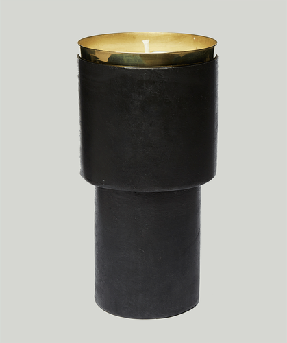 MAD et LEN  FUMISTE BLACK Candle Holder