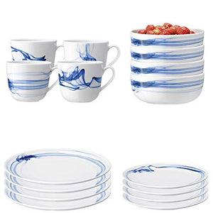 Cirro Mug Cobalt Assorted S/4