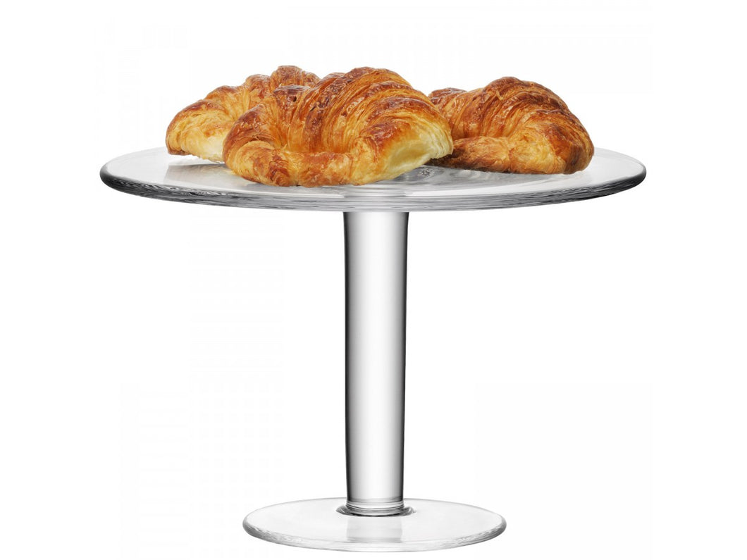 Klara Cakestand (high) Ø30cm Clear