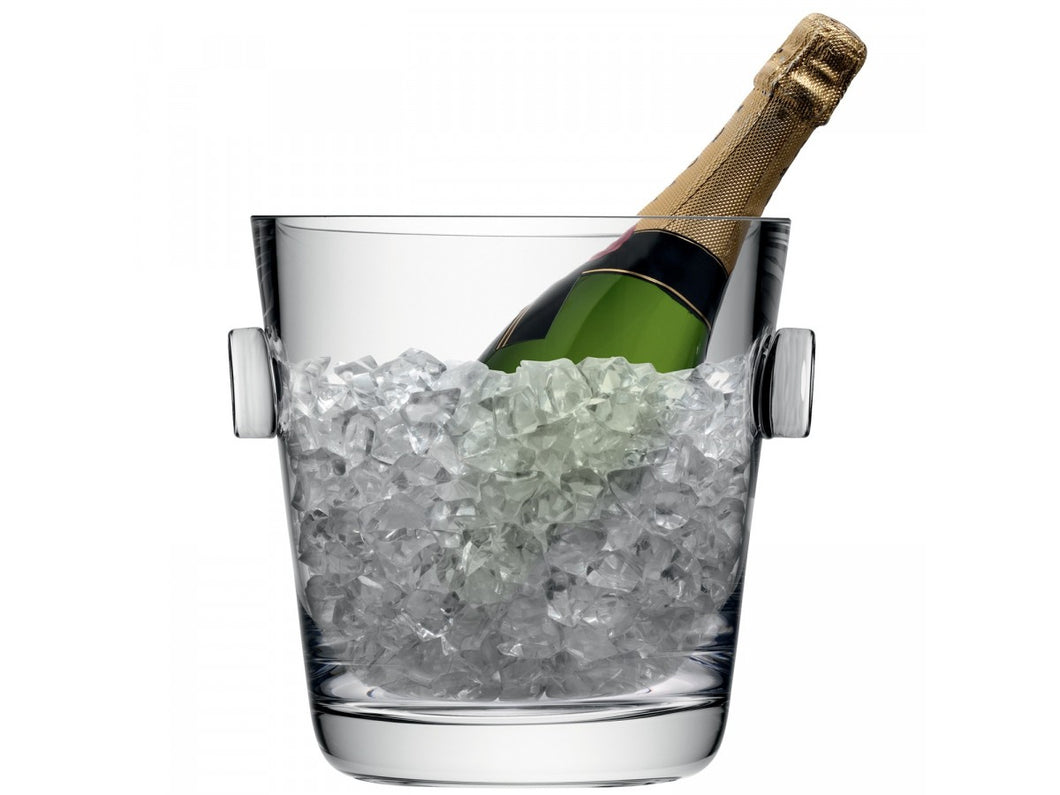 Madrid Champagne Ice Bucket H25cm Clear