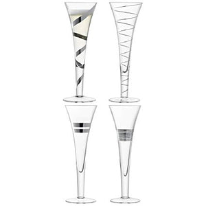 Gatsby Champagne Flute S/4