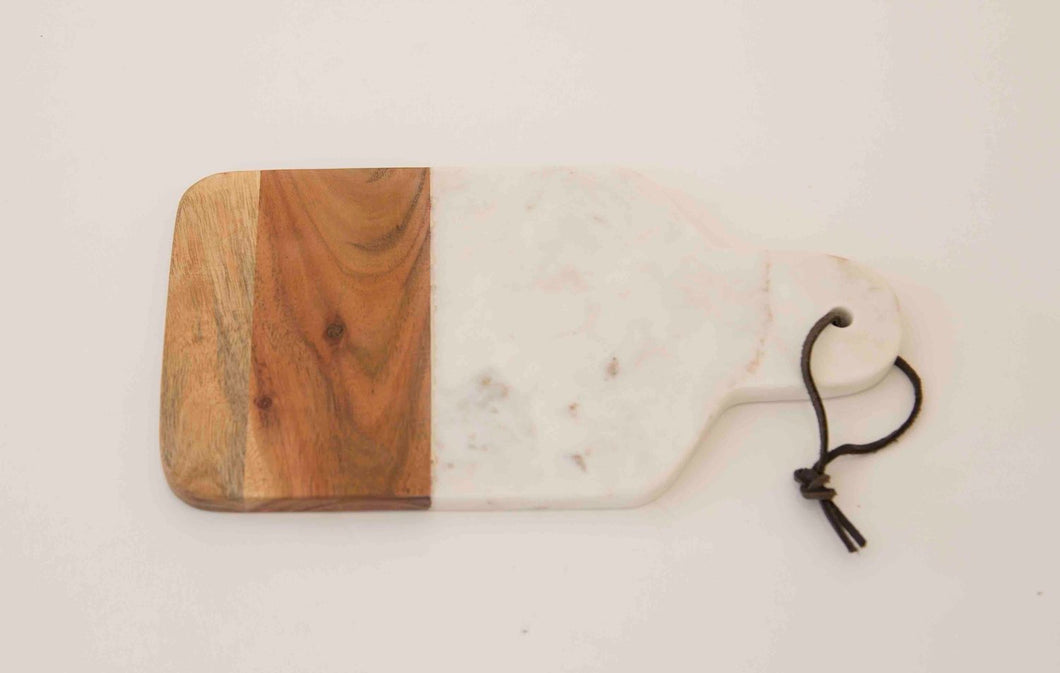 Wood & Marble Serving Boards