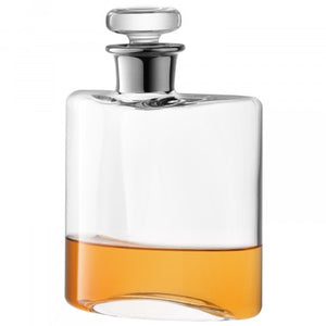Flask Decanter 0.35L Platinum Neck