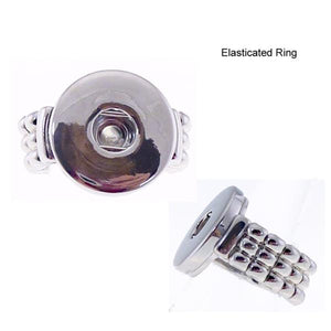 Snap ring elasticated