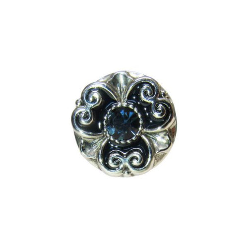 Celtic silver crown snap