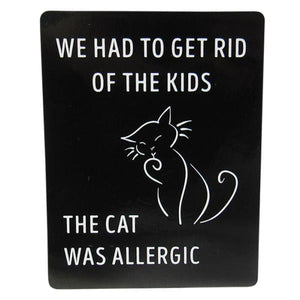 Cafe Magnet Allergic Cat