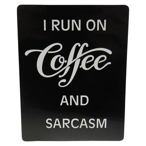 Cafe Magnet coffee sarcasm