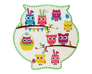 Owl trivet friends
