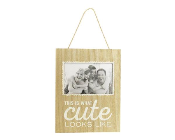 Photo frame looking cute