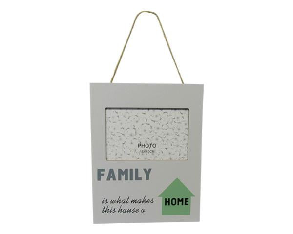 Photo frame family home