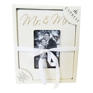 Photo frame Mr and Mrs