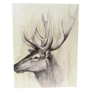 Textured art Stag