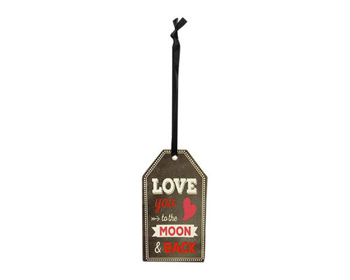 Love hanger sign moon