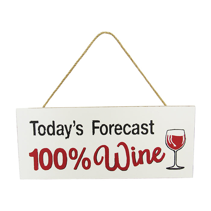 Kitchen hanger forecast wine