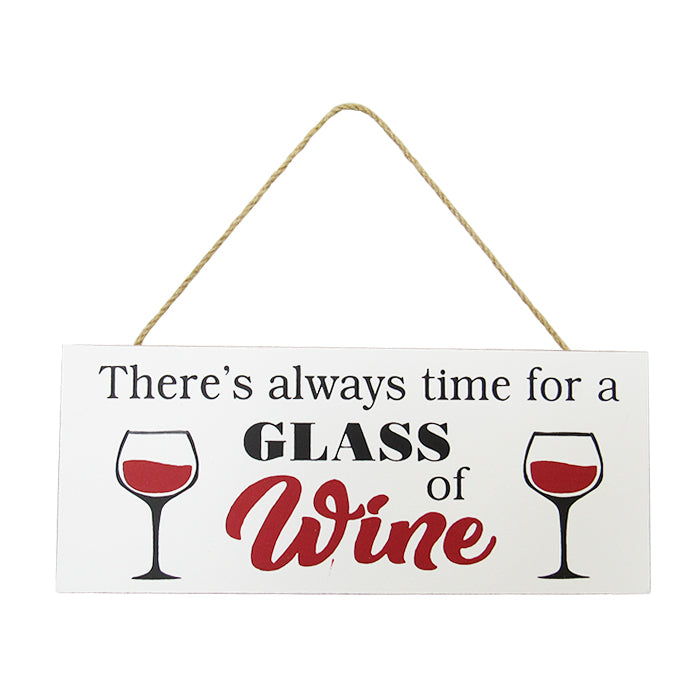 Kitchen hanger glass of wine